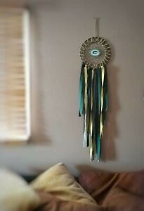 Details About Green Bay Packers Home Decor Dreamcatcher
