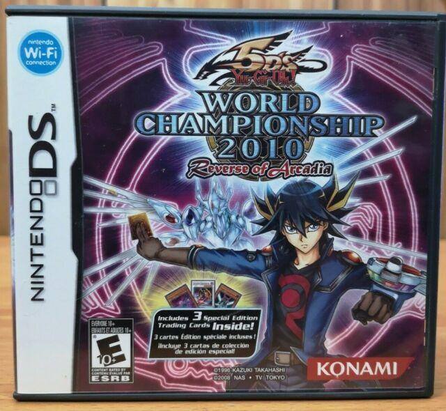 5D's Yu-Gi-Oh! World Championship 2010 Reverse of Arcadia (Nintendo DS, 2010)