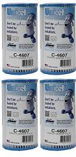 4) Unicel C-4607 Coleco Krystal Klear Intex A or C Replacement Filter Cartridges