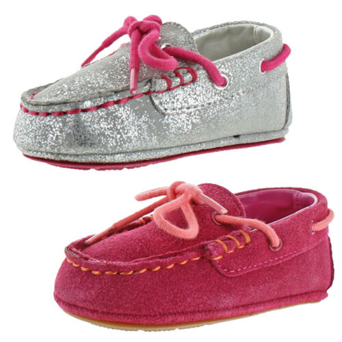 B,M Cole Haan Grant Driver Pink Driving Moccasins 2 Medium Infant BHFO 3581