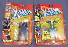Marvel Dynam-X Comics Uncanny X-Men BANSHEE & LONGSHOT Action Figures ToyBiz NIP