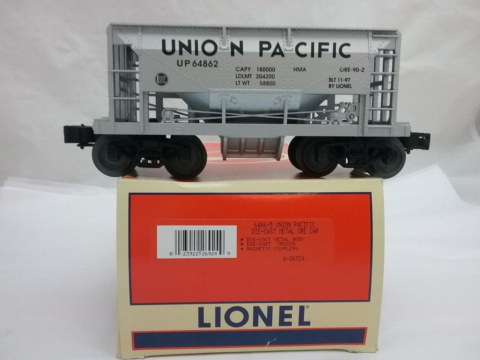 Lionel 6-26924 Die-Cast Metal Ore Car Union Pacific