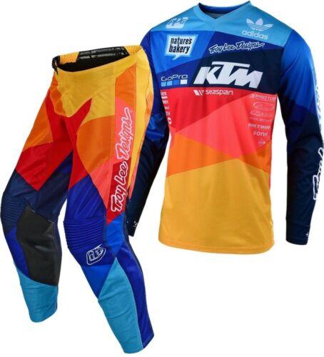 2019 TROY LEE DESIGNS TLD GP AIR JET TEAM KTM RACE KIT NAVY ORANGE ...