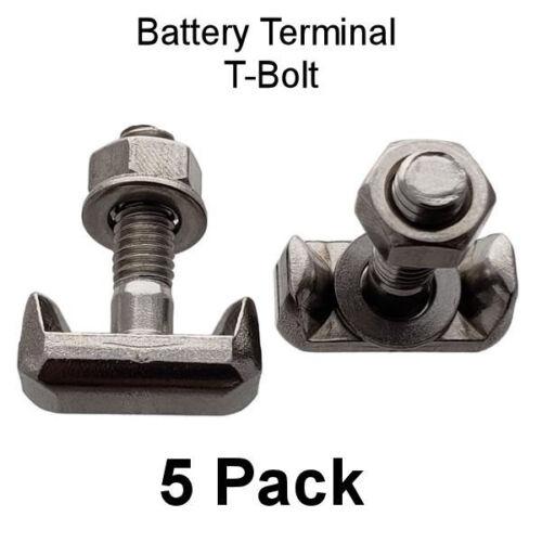 5x Battery Terminal T Bolt Thread Fits GM 19116852 VW 6X0-915-138 Dorman 64740