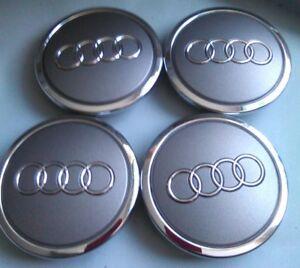 4 x Original Audi Radzierkappen/Audi Nabendeckel,Nabenkappen 4B0 601 170 A, NEU