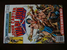 John Carter Warlord Of Mars #20 NM Battle Of The World