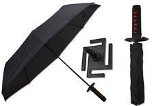Bleach Samurai Katana Kurosaki ichigo Sword Umbrella 3 Foldable Cosplay Umbrella