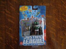 BATMAN JUSTICE LEAGUE UNLIMITED Black Suit Gas Mask Action Figure MOC 2004 RARE