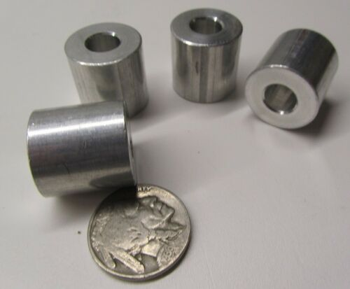 "NO 3//4/"" OD x .315/"" ID x 3//4/"" Length 4 pcs Aluminum Spacer 5//16/"" Screw"