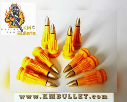 HDS 68-Less Lethal Paintball Mun cal .68 Gold Sunday Price 10 x KM Bullets