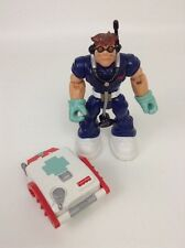 Fisher Price Rescue Heroes Doctor Action Figure w/ Medical Back pack Accessory