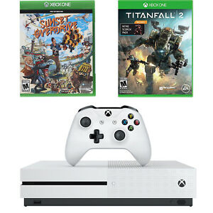 Microsoft-Xbox-One-S-1TB-4K-BluRay-Console-Titanfall-2-amp-Sunset-Overdrive-Bundle
