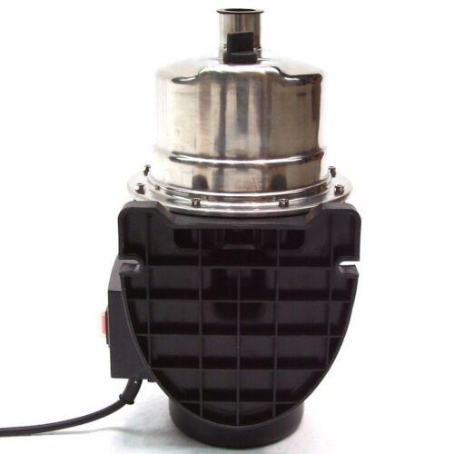 Edelstahl Gartenpumpe 1200W Wasserpumpe Pumpe 44321 Kreiselpumpe Teichpumpe