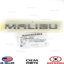 "New OEM /""MALIBU/"" Deck Lid Emblem 2009-2014 Chevrolet Malibu 22842005"