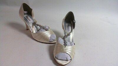 Nuevos Zapatos de novia/de noche: Dyeable-Makayla-Marfil-US 10 B-UK 8 #12L463