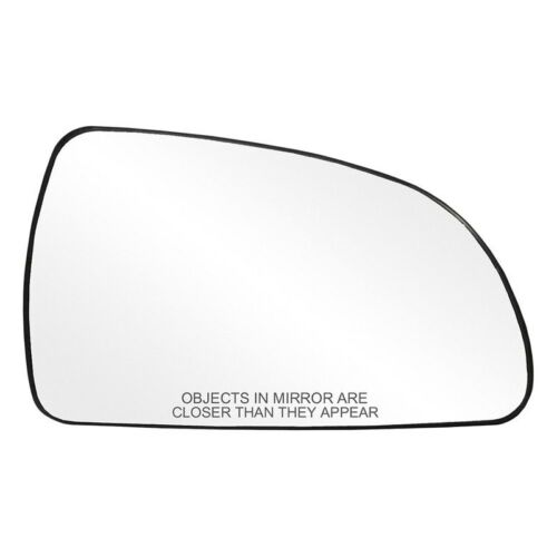 For Hyundai Sonata 07-10 Passenger Side Mirror Glass w Backing Plate Heated