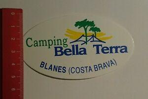 Bella Terra Blanes : Aufkleber sticker camping bella terra blanes costa brava