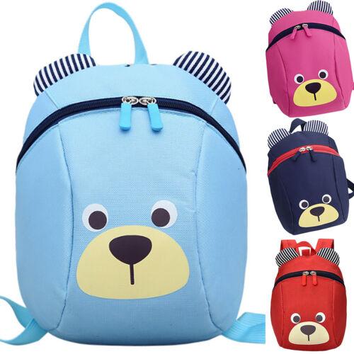 Baby Kids Toddler Walking Safety Harness Strap Backpack Rucksack Bag with Reins