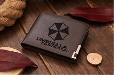 Genuine Quality Leather Wallet - Resident Evil Umbrella Corporation #2