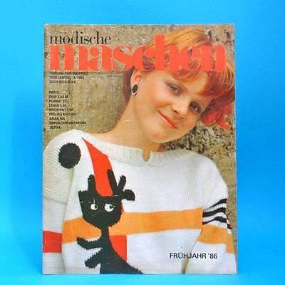 Modische Maschen 4 Von 1985 | Schnittmuster Mode Verlag Für Die Frau | Ddr X Reines Und Mildes Aroma