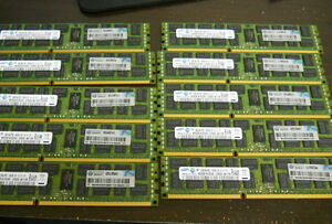 2RX4 PC3-10600R MEMORY 500662-B21 501536-001 1X8GB 500205-071 GENUINE HP 8GB