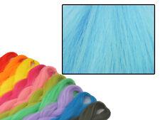 CYBERLOXSHOP PHANTASIA KANEKALON JUMBO BRAID AQUA NIGHT BLUE HAIR DREADS