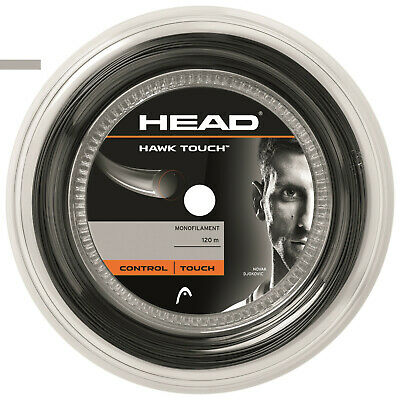 (0,59 €/m) Head Hawk Touch 17 Antracite 120 M Corde Tennis- Vari Stili