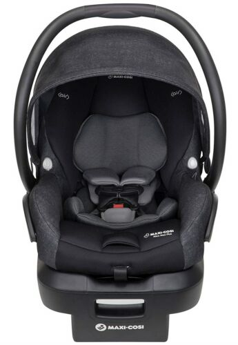 Maxi-Cosi Mico Max Plus Air Protect Infant Baby Car Seat w Base Nomad Black NEW