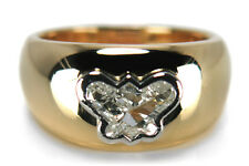 Schmetterling Ring Diamant  Top Crystal/p1 750 Gelbgold Platin [BRORS 14406]