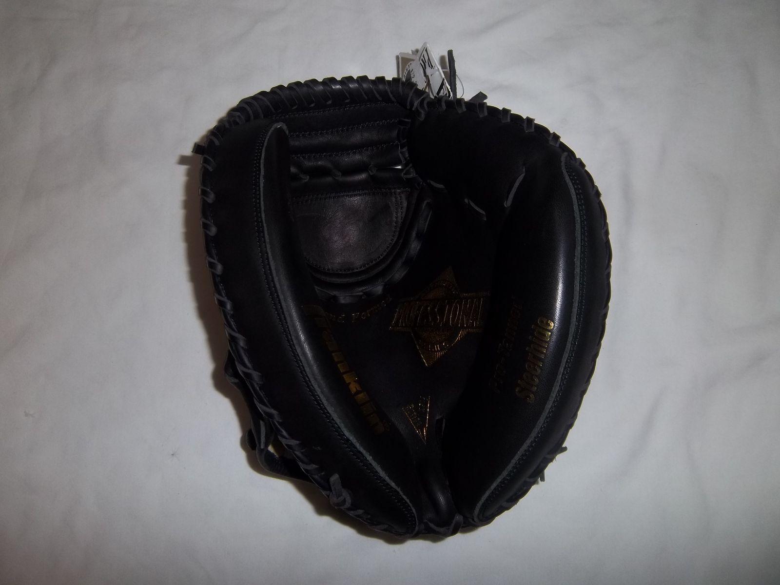 Franklin 4894B Profesional atrapasueños Guante Negro diestro lanzador-va en la mano izquierda