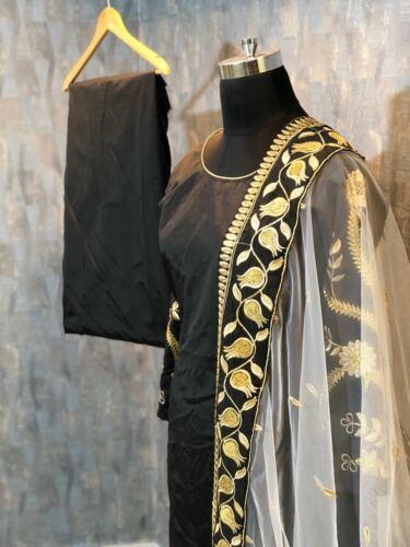 Panjabi Designer Salwar Suit Embroidery Traditional Indian Salwar Kameez  RC-66