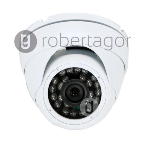TELECAMERA DOME VIDEO SORVEGLIANZA INFRAROSSI 24 LED CCD 3,6 mm SOFFITTO YF-8020