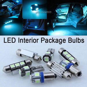 8K-Ice-Blue-LED-Kit-Full-Interior-Error-Free-11x-SMD-For-VW-Golf-4-MK-IV-2000