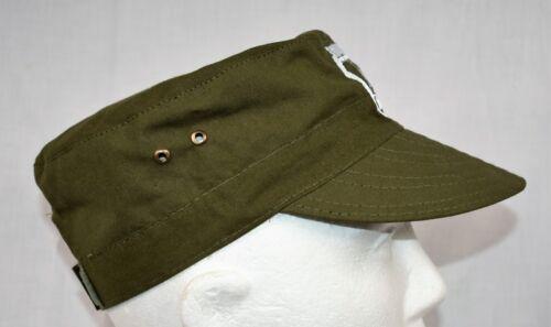 Schildmütze olivegrün Militär Cap Größe 56-58 GAZ 69 Handarbeit GAZ