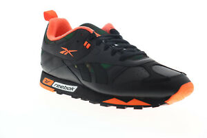 Reebok-Classic-Leather-RC-1-0-FW2567-Mens-Black-Low-Top-Sneakers-Shoes