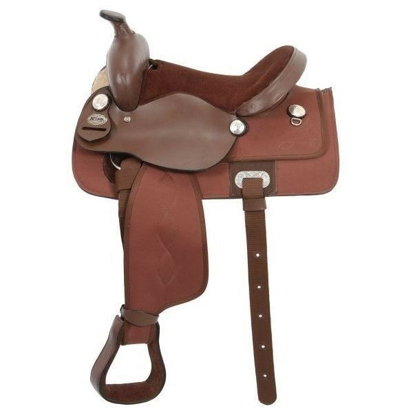 Tough-1 King Series Krypton Western Youth Saddle with Square Skirt