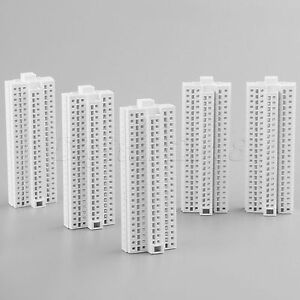 Outland-Models-Railway-Modern-Tall-Business-White-Building-Office-HO-Scale