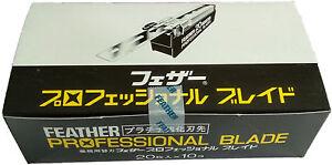 Feather-Artist-Club-Professional-Blade-PB-20-10-Packs-200-Blades