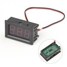 Led Display Digital Voltmeter Dc30v Car Gauge Voltage Volt Panel Meter 2 Wire
