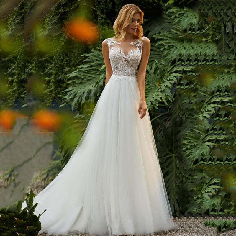 Spitze A-Linie Brautkleid Hochzeitskleid Kleid Braut Babycat collection BC718