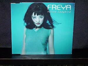 FREYA-YELLOW-LADYBIRD-RARE-CD-SINGLE-NM