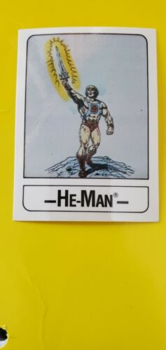 Vintage Masters of the Universe Wonder Bread Trading Cards