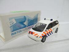 eso-13920Rietze 1:87 PKW Politie mit minimale Gebrauchsspuren,winzige Kratzer
