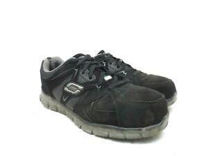 Skechers for Work Men/'s Synergy Ekron Alloy Toe Work Shoe