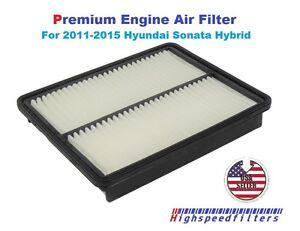 New premium engine air filter for 2011 2012 2013 2014 2015 for 2015 hyundai sonata cabin filter location