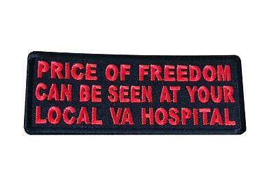 """3677 VIETNAM WAR VET 3.5/"""" x 2/"""" iron on patch A In Memory of My Father"""