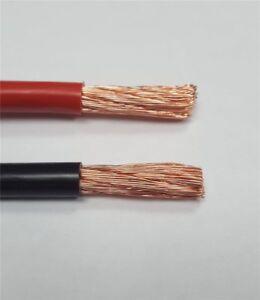 Fahrzeugkabel Batteriekabel rot schwarz 0,75 mm² bis 16 mm² Kfz Kabel Einzelader