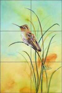 Hummingbird-Tile-Backsplash-Libby-Bird-Wildlife-Art-Ceramic-Mural-SLA032
