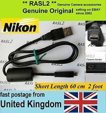 Genuine Original Nikon USB Cable CoolPix S6200 S6500 S3000 S3100 S3200 S3300