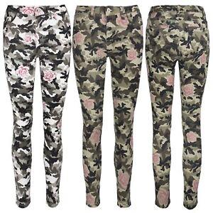 save off sale retailer outlet boutique Détails sur Femme Imprimé Pantalon Femmes Camouflage Armée Rose Denim Coupe  Skinny Pantalon Jeans- afficher le titre d'origine